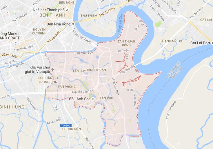 Quận 7 , Hồ Chí Minh